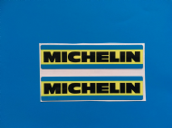 MICHELIN 70'S 80'S STYLE RACING & RALLY CAR Sticker/decal x2